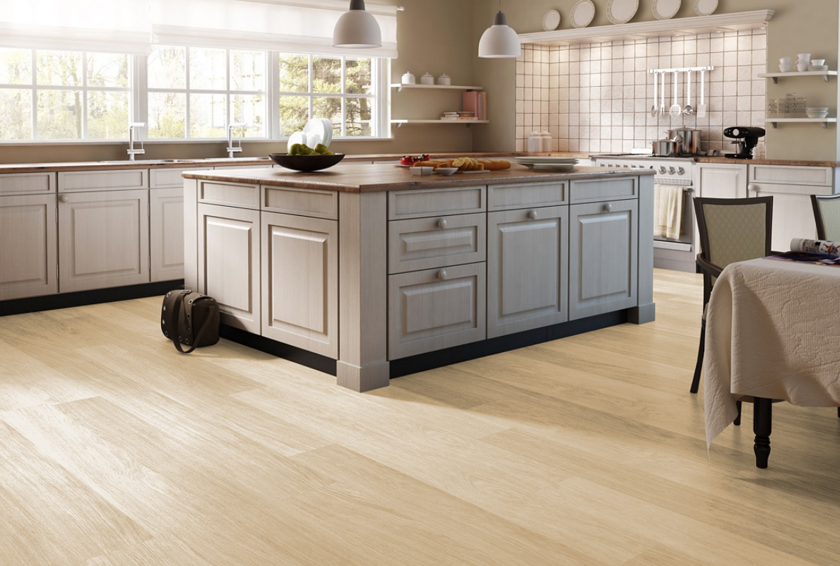 laminate floors in kitchen