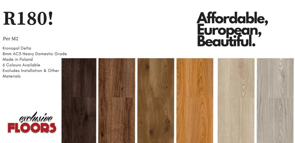 Kronopol Delta 8mm Laminate Wood Flooring Exclusive