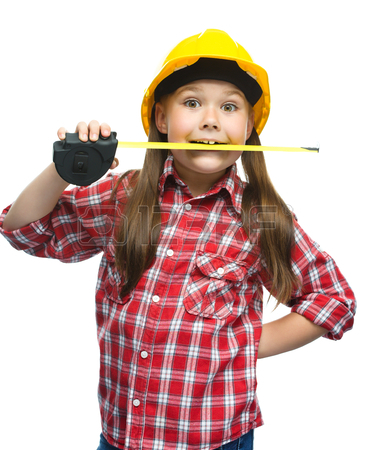29304028-happy-cute-girl-as-a-construction-worker-with-tape-measure-isolated-over-white